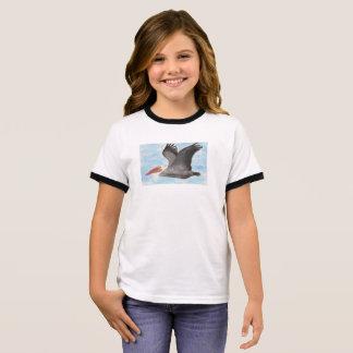 Der T - Shirt des Brown-Pelikan-Kindes