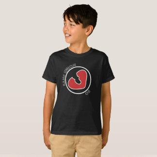 Der T - Shirt des Kindes mit Heartbreakerlogo der