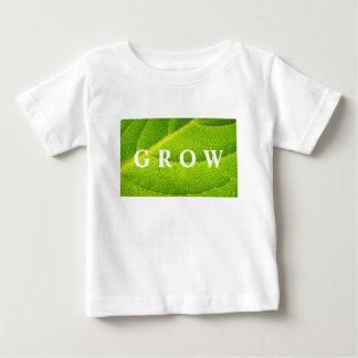 Der T - Shirt des Kindes; WACHSEN Sie
