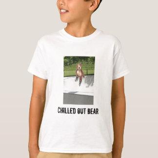 Der T - Shirt des Rollerblading Teddy-Bärn-Kindes