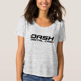 Der T - Shirt-Digital-Bargeld der Schlag-Frauen T-Shirt