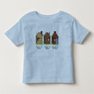 Der T - Shirt drei kleine Schwein-Kinder