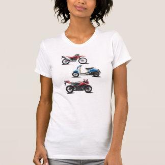 Der T - Shirt drei Motorrad-Frauen