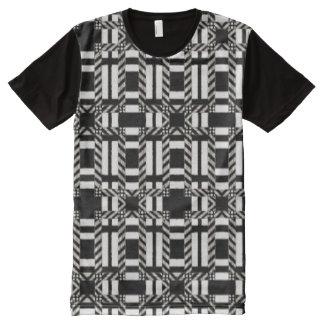 Der T - Shirt-Farbe der Männer blockierte T-Shirt Mit Komplett Bedruckbarer Vorderseite