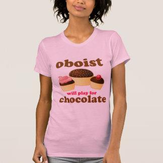 Der T - Shirt lustiger Oboe Frauen