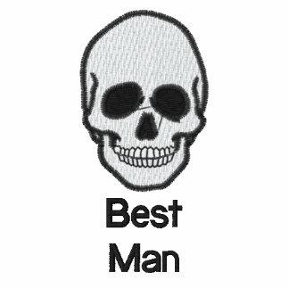 Der T - Shirt Schädel der gestickten Männer des