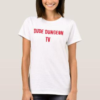 Der T - Shirt Typ Dugeon Fernseheinfacher Frau