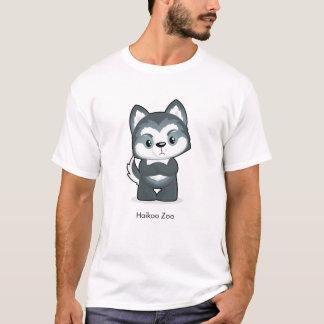 Der T - Shirt verärgerter Heiser-Wolf Männer