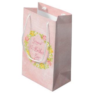 Der Tag der Mutter - hübsche Watercolor-Rosen 2 Kleine Geschenktüte