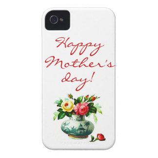 Der Tag der Mutter mit Blumen Case-Mate iPhone 4 Hüllen