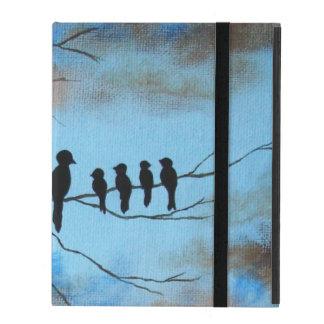 Der Tag der Mutter, schwarze Vögel auf iPad Schutzhüllen