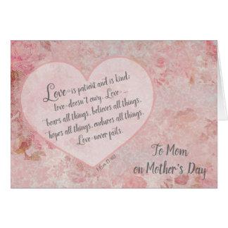 Der Tag der Mutter zu Herzen 13 der Karte