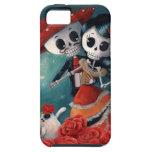 Der Tag der toten Skeleton Liebhaber iPhone 5 Etui
