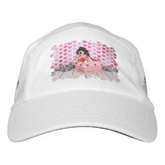 Der Tag des Valentines - Dottie - Dackel Headsweats Kappe