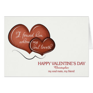 Der Tag des Valentines - mein Soul-Kamerad, meine Karte