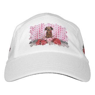 Der Tag des Valentines - Oakley - Dackel Headsweats Kappe