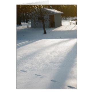 Der Tag des Winters Karte