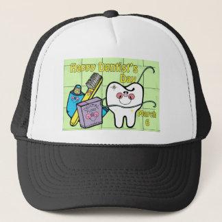 Der Tag des Zahnarztes am 6. März Truckerkappe