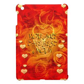 Der Tag, die Herzen und die Rosen der Mutter iPad Mini Cover