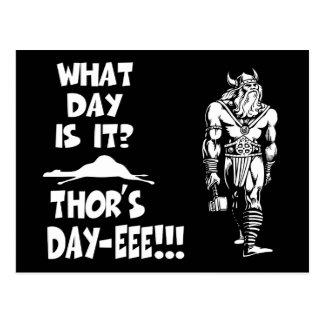 Der Tag-eee des Thors!!! Postkarte