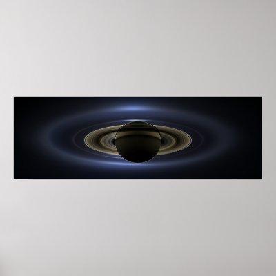 Der Tag Lächelte Die Erde Cassini Saturn Poster Zazzle De