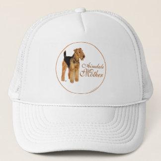 Der Tag Mutter Airedales Terrier Truckerkappe