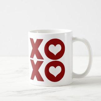 Der Tag XOXO Liebevalentines Kaffeetasse