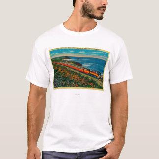 Der Tageslicht begrenzte Zug auf Kalifornien T-Shirt