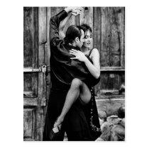 Der Tango Postkarte