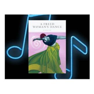 Der Tanz einer freigegebenen Frau… Postkarte