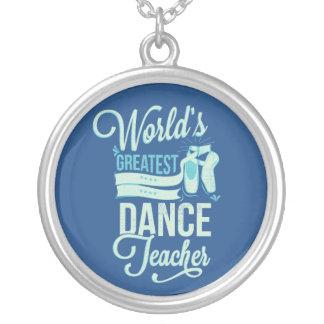 Der Tanz-Lehrer-Halskette der Welt bestste Halskette Mit Rundem Anhänger