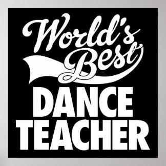 Der Tanz-Lehrer-Plakat der Welt bestes Poster