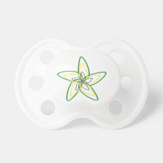 Der Tanzen-Stern-Blume BooginHead Schnuller