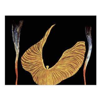 Der Tänzer Loie voller durch Moser Koloman (bestes Postkarte