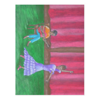 Der Tänzer Postkarte