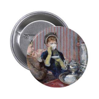 Der Tee Runder Button 5,7 Cm