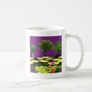 Der Teich ist manchmal Märchen Kaffeetasse