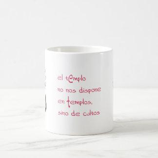 der Tempel Kaffeetasse