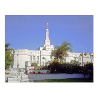 Der Tempel Montevideos Uruguay LDS Postkarten