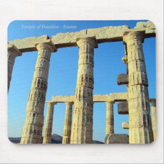 Der Tempel von Poseidon in Sounio Mousepad