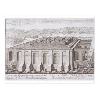 Der Tempel von Solomon, Jerusalem, von 'Entwurf Postkarte