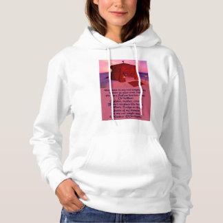 Der Tempel-Zelt-Poesie-mit Kapuze Sweatshirt der