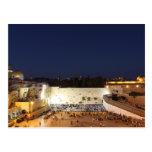 Der Tempelberg in Jerusalem, Israel Postkarte