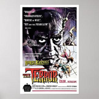 """""""Der Terror-"""" Plakat"""