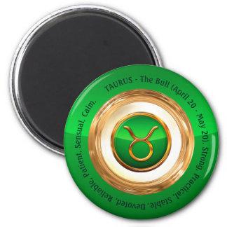 Der Tierkreis-Zeichen-Persönlichkeits-Merkmale der Runder Magnet 5,1 Cm