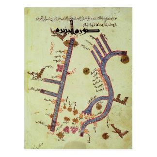 Der Tigris und der Euphrat Postkarte