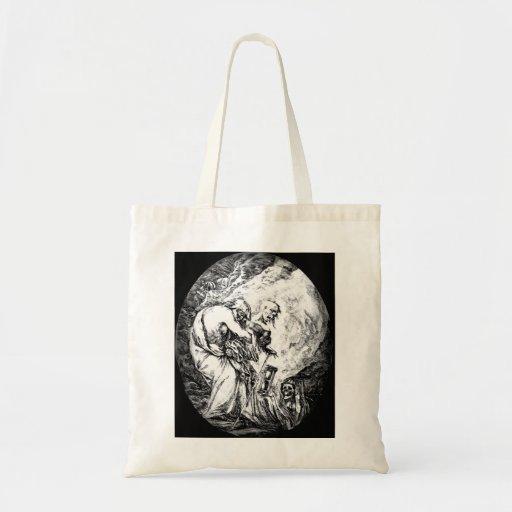 Der Tod der Greis und sterben Zeit Tasche