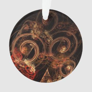 Der Ton Musik-des abstrakten Kunst-Acryl-Kreises Ornament