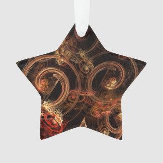 Der Ton Musik-des abstrakten Kunst-Acryl-Sternes Ornament