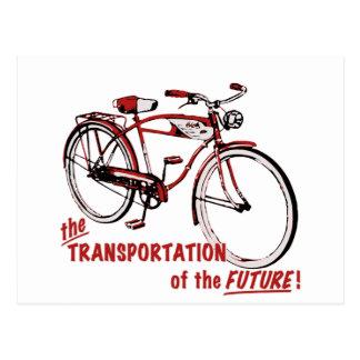 Der Transport der Zukunft Postkarte